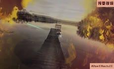 彩色水墨碰撞动画照片写真视差相册AE模板
