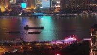 上海美丽夜景高清实拍视频素材