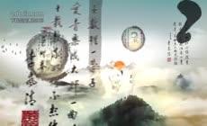 古典文雅中国风水墨笔刷人物介绍宣传片头AE模板