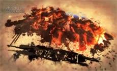 震撼复古水墨中国风长征胜利91周年宣传片AE模板