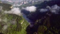 高清实拍湖南张家界武陵源风景区