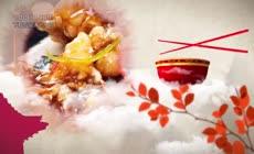 大气餐饮美食广告片头栏目包装展示AE模板