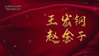 唯美浪漫中国风婚礼视频片头AE模版