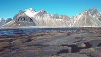 3月的冰岛美丽自然风景