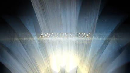 6款纯色背景中金光闪闪的颁奖典礼视觉盛宴AE模板