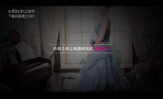 唯美韩式风格浪漫清新电子相册婚礼开场视频ae模板