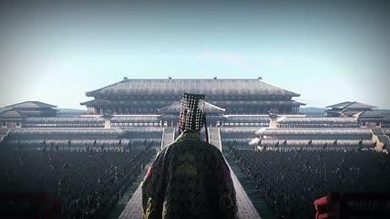 中国古代战争3D动画战鼓箭战火视频素材