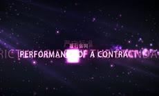 紫色粒子光晕企业宣传片AE模板\(CC2017\)