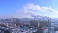 高清实拍东北冬季人文景观