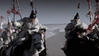 古代战场骑马征战战争