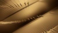 中国古代织布技术动态视频素材