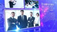 科技创未来企业宣传片头AE模板\(CC2017\)