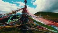 9分钟航拍青海自然风光风土人情视频素材