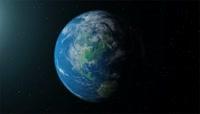 震撼大气中国风云层穿梭旅游宣传AE模版