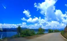 自驾旅行自然风光延时摄影视频素材