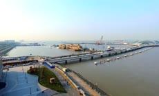 高清实拍吴淞炮台湿地公园视频素材