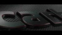 用E3D插件创建黑色金属拉丝效果的三维标志演绎片头AE工程