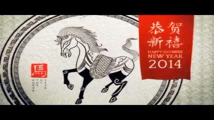 中国风十二生肖动画演绎片头AE模板