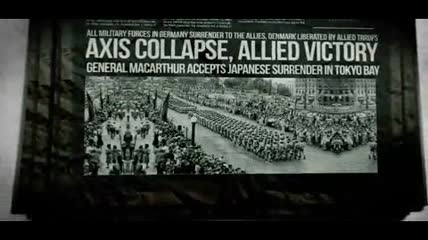 革命战争年代样式的新闻报纸内容演示AE模板