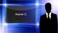 炫光边框电视虚拟演播室AE模板