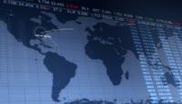 全球商务经济主题的视频素材