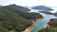 香港西贡大浪湾高清实拍视频素材