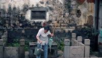 苏州老城人文景观视频视频素材