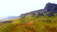 苏格兰风情斯凯岛高清实拍视频素材