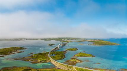 延时摄影4K高清挪威自然风光