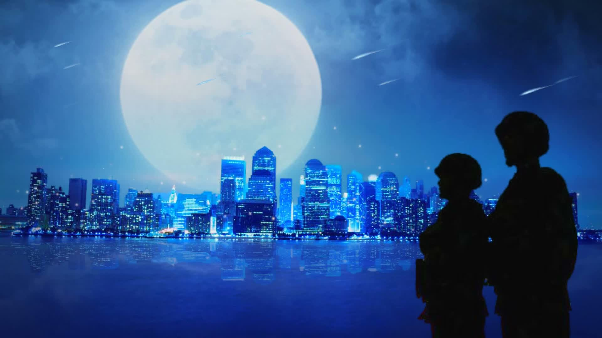 配乐成品 月亮之歌 军旅抒情歌曲