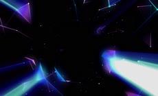 高清圆形发光粒子素材5