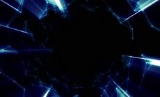 高清圆形发光粒子素材6