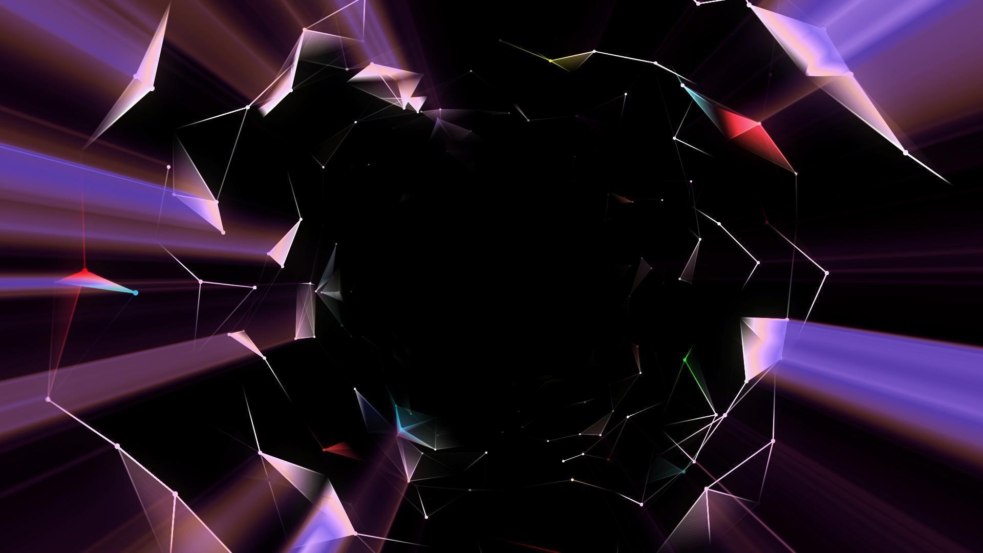 高清圆形发光粒子素材9