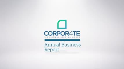 一组企业文化宣传推广财务年度总结展示AE模板
