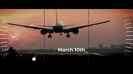 含有标尺和定位图形元素的旅游宣传片AE工程