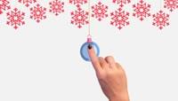 可爱卡通火柴人为你揭开圣诞节的问候与祝福AE模板