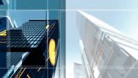 LED高清城市动态视频素材2