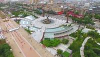 陕西西安临潼华清广场高清实拍视频素材