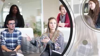 商务公司团队业务推广介绍宣传片头模板