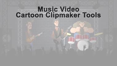 音乐聚会派代欢聚节目动画视频工具包