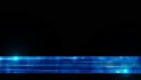 蓝色玻璃液面线字幕素材