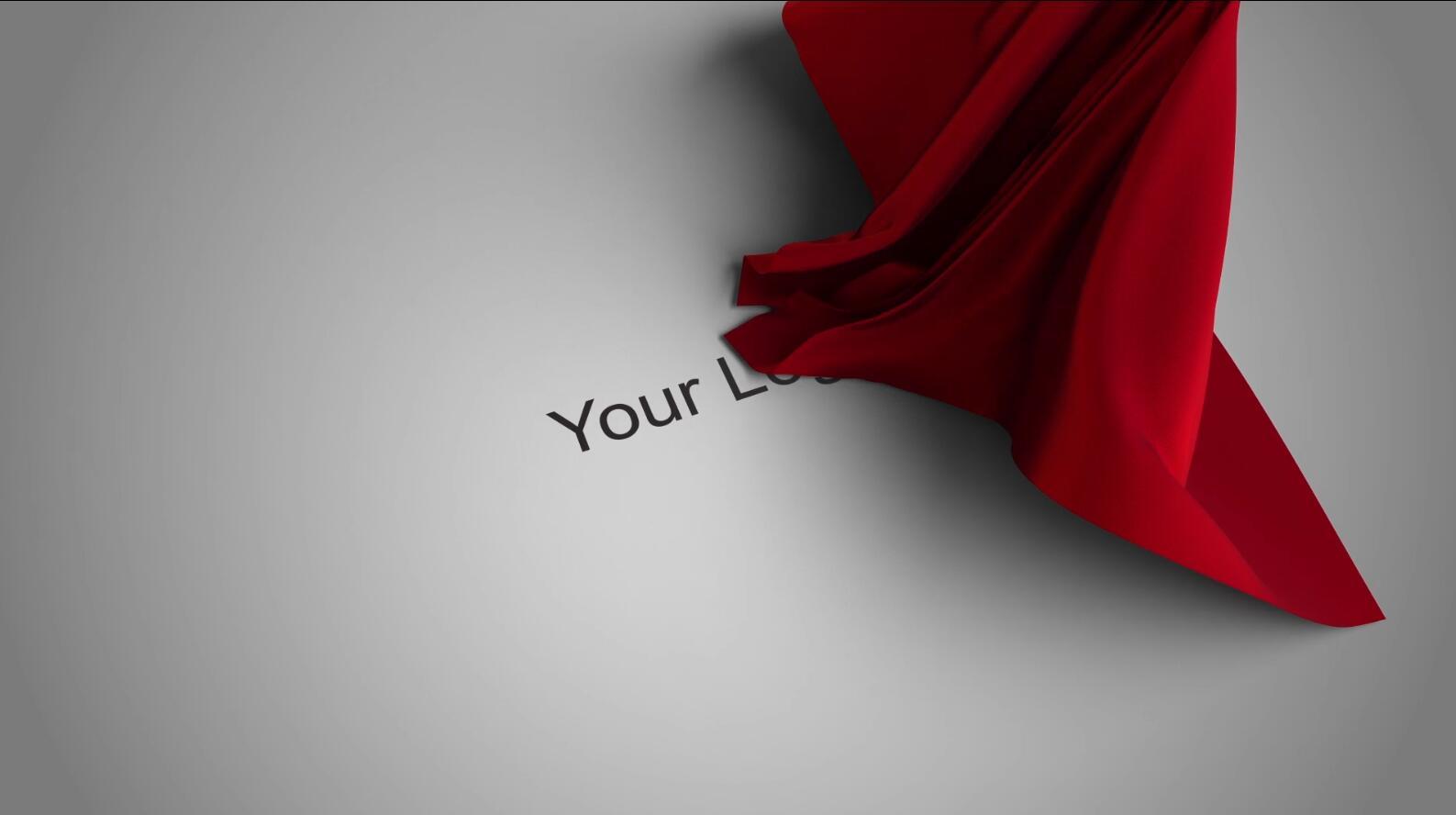 红布logo揭示