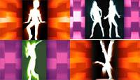 DI舞蹈背景动态高清视频