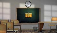毕业季学校黑板和粉笔主题动画包装AE模板