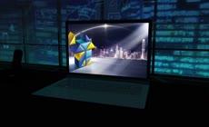 商务企业公司笔记本电脑屏幕展示ae模板