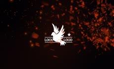 金色燃烧logo