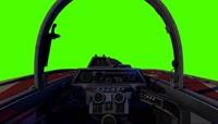 驾驶舱 绿屏