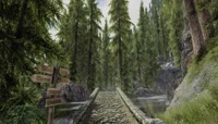 3D\-寂静山林\-路