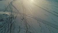 寒冷的冬夜 芬兰最南部的城市