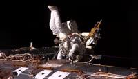 空间站 行走 太空 宇宙 宇航员